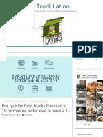 Por Qué Los Food Trucks Fracasan y 10 Formas de Evitar Que Te Pase a TI