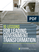 GOV Leadership Forum Presentation - Accenture Handbook 2015-2016