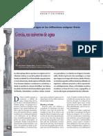 La importancia del agua en las civilizaciones antiguas: Grecia.