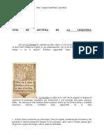 Guía de Lectura dejk La Celestina