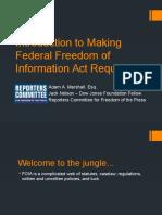 FOIA Presentation for NPF
