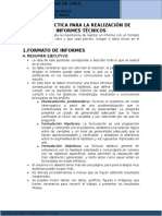 Guía Para Realizar Informes Técnicos USACH