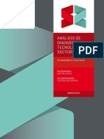 Análisis de Diagnóstico Sectorial. Petroquímica y Plásticos. 2013