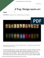Cultured X FOG Art and Design