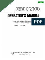 FCV292 Operator's Manual L1 12-24-03