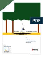Common Pitfalls in Dashboard Design