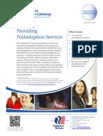 2.5.1 Providing Post Adoption Services