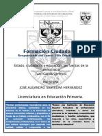 Estado, Ciudadanía y Educación