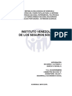 Salud y Desarrollo Economico Social - IVSS