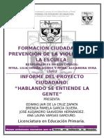 Informe proyecto ciudadano