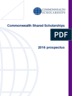 Prospectus Shared Scholarships 2016
