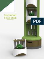 Savannah Food Stalk Process Book