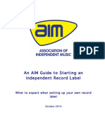 How to Start an Independent Record Label