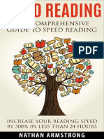 Speed Reading - The Comprehensiv - Nathan Armstron