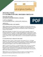 La Eucaristia en La Iglesia