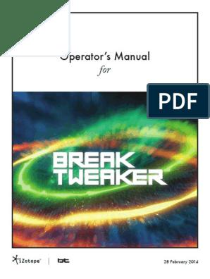BreakTweaker Help Documentation | Synthesizer | Frequency