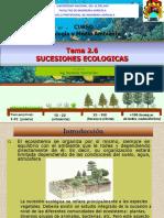 2.6 Sucesiones Ecológicas