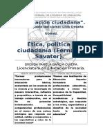 Etica, Politica y Ciudadania