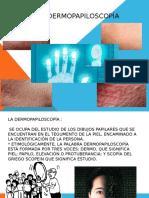 La Dermopapiloscopía