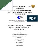 Tesis Evaluacion Del Sistema de Inyeccion de Agua en El Campo Auca