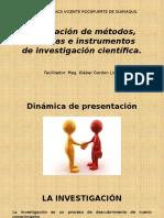 Modelacio¦n de metodos, tecnicas e instrumentos de investigacion