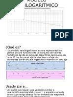 Modelo Semilogaritmico