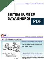(2) Sumber Daya Energi
