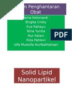 Solid Lipid Nanopartikel