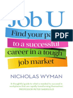 Job U by Nicholas Wyman (Extract)
