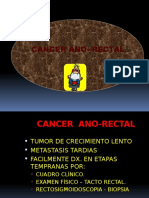 4 Cancer .Ano Rectal