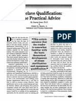 Autoclave Qualification Some Practical Advice