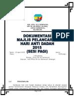 Kertas Kerja Hari Anti Dadah 1 2015