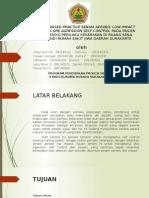 Evidenced Based Practice Senam Aerobic Low Impact Terhadap