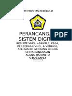 Perancangan Sistem Digital