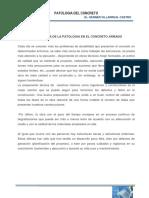 Patología Del Concreto 2016