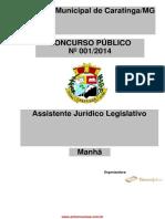 ASSISTENTE JURÍDICO LEGISLATIVO