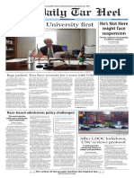 The Daily Tar Heel for Jan. 12, 2016