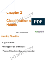 Chapter 2 - Classification of Hotels