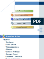 Pre Sales Process