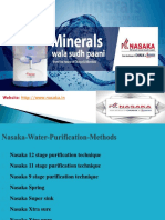 Why Use Nasaka RO water Purifier
