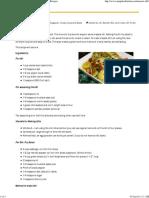 Masala Idli - Indian Vegetarian Recipes