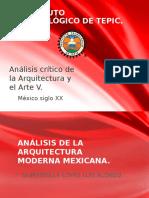Análisis Crítico de La Arquitectura y El Arte