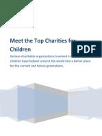 Meet the Top Charities for Children