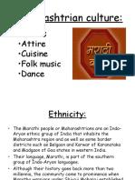 Maharashtrian Culture