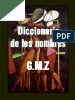 Diccionario de Los Nombres