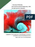 Various Applications of Fluid Mechanics