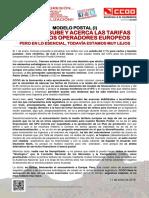2155603-Comunicado Correos Sube Las Tarifas