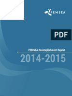 PEMSEA Accomplishment Report 2014-2015