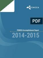 PEMSEA Accomplishment Report 2014-2015