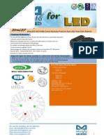 EtraLED-SEO-4880 for Seoul Modular Passive LED Cooler Φ48mm